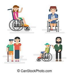 Parents with disabled children
