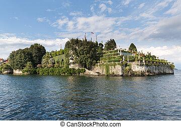 italia,  bella, lago,  stresa,  maggiore,  isloa