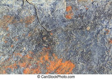 slate stone gray ruety color texture background