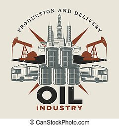 Vintage Extraction Oil Template - Vintage extraction oil...