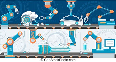 Industrial Automation Horizontal Banners