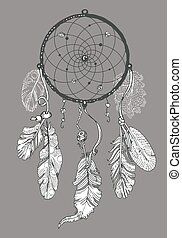 Drawing of Dreamcatcher