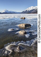 Forming Ice on the Chilkat