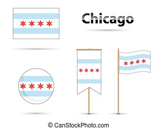 chicago flags - Chicago flags