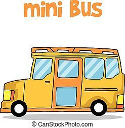 Transportation of mini bus collection