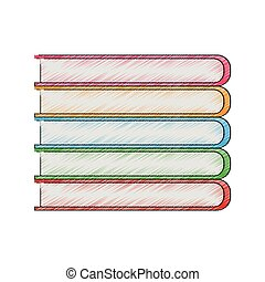 stack of book icon