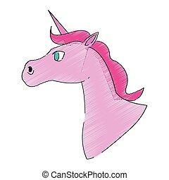unicorn horse icon