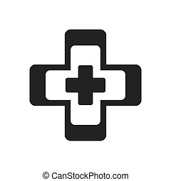 cross medical health symbol