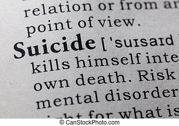 definition of suicide - Fake Dictionary, Dictionary...