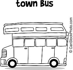 Transportation of town bus collection