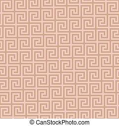 Classic meander seamless pattern. Greek key neutral tileable...