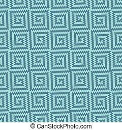 Meander Pixel Art Seamless Pattern. - Meander Pixel Art...