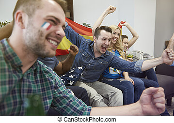 Euphoria among biggest soccer fans