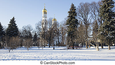 Ivan the Great Bell-Tower complex. Cathedral Square, Inside...
