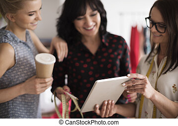 New technology in women's business