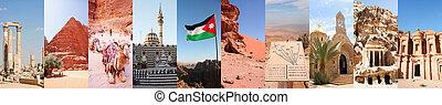 photo collage of Jordan