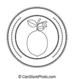 Delicious lemon fruit
