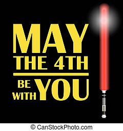 one red light future sword and text may the fourth be with...