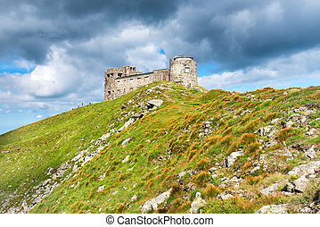 Castle on the top of mountain