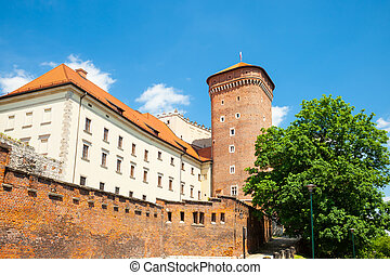 Medieval Senator's tower at Royal Wawel Castle as a part of...
