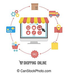 shopping on-line
