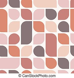 Abstract boho geometric background