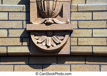 Exterior Enhancements - Decorative Stonework enhances the...