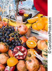 fruits for preparing natural juice in Istanbul - mobile...