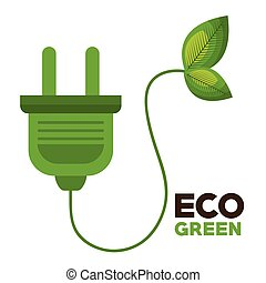 eco green environmental poster