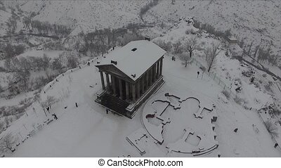 Temple of Garni - pagan temple in Armenia