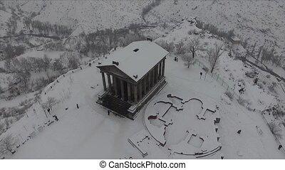 Temple of Garni - pagan temple in Armenia