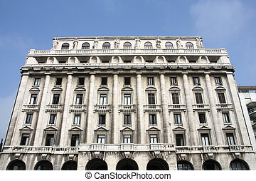 Padua - Old building in Padua, Italy. Vintage architecture.