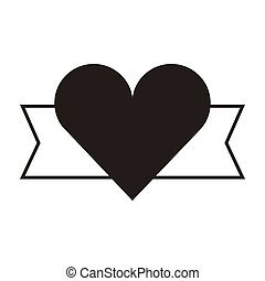 heart love card valentines day