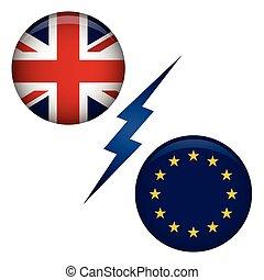 BREXIT UK Referendum Exit Graphic - BREXIT UK Referendum...