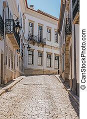Old city center of Faro, Algarve, Portugal