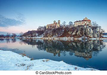 Benedictine monastery in Tyniec near Krakow, Poland