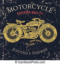 Motorcycle vintage graphics, Road Trip , t-shirt typography,...