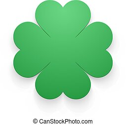 Happy St. Patricks Day Greeting Background. Vector...