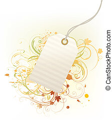 price tag - Vector illustration of product price tag on the...