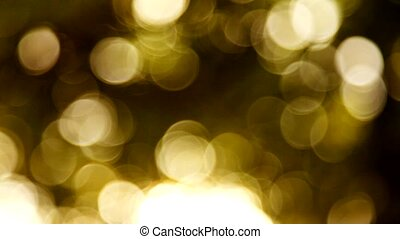 HD grained gold bokeh background - HD grained gold blurred...