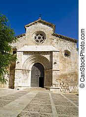 Church of San Felipe, built in the S. XIII transitional...