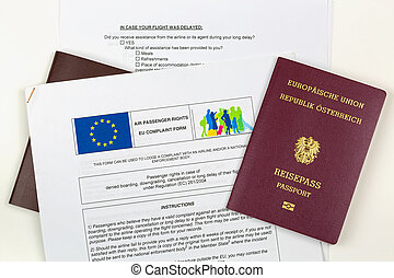 Austrian electronic passport on EU complaint form against...