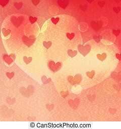 Graphic illustration. - Love background. Happy Valentines...