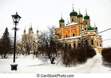 Goritsky Monastery of Dormition in Pereslavl Zalessky,...