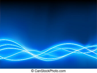 abstract background - A vector illustrated futuristic...