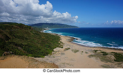 Seaside of Kenting, Taiwan - Nature scenery view from the...