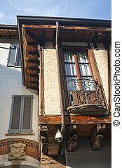 Monza (Italy): historic buildings - Monza (Brianza,...