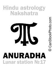 Astrology: Lunar station ANURADHA (nakshatra) - Astrology...
