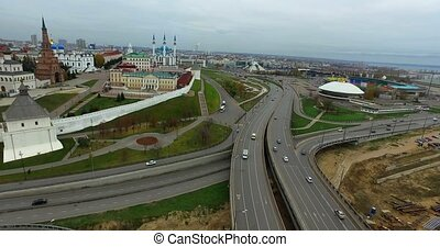 Kazan City Centre bridge