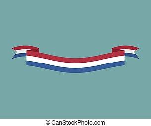 países bajos, bandera, aislado, nacional, símbolo,  countrys, bandera, cinta, holandés, público, cinta